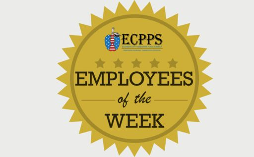 March 16 - ECMS - Employees of the Week