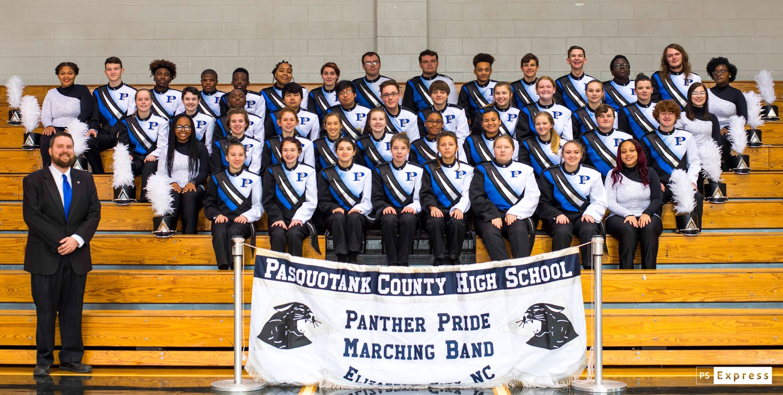 PCHS Band New Uniforms 2019